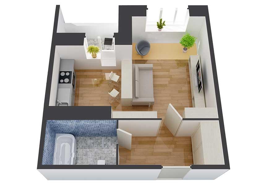 монтаж электропроводки в однокомнатной квартире новостройке